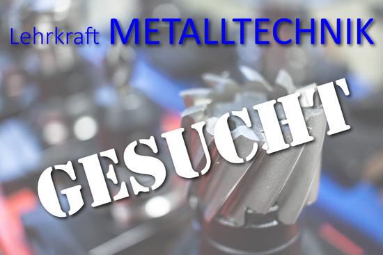 Stellenausschreibung Metalltechnik